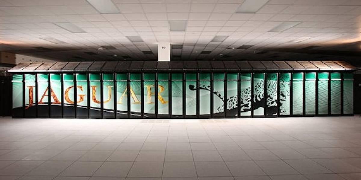 Montaje de la supercomputadora más rápida del mundo