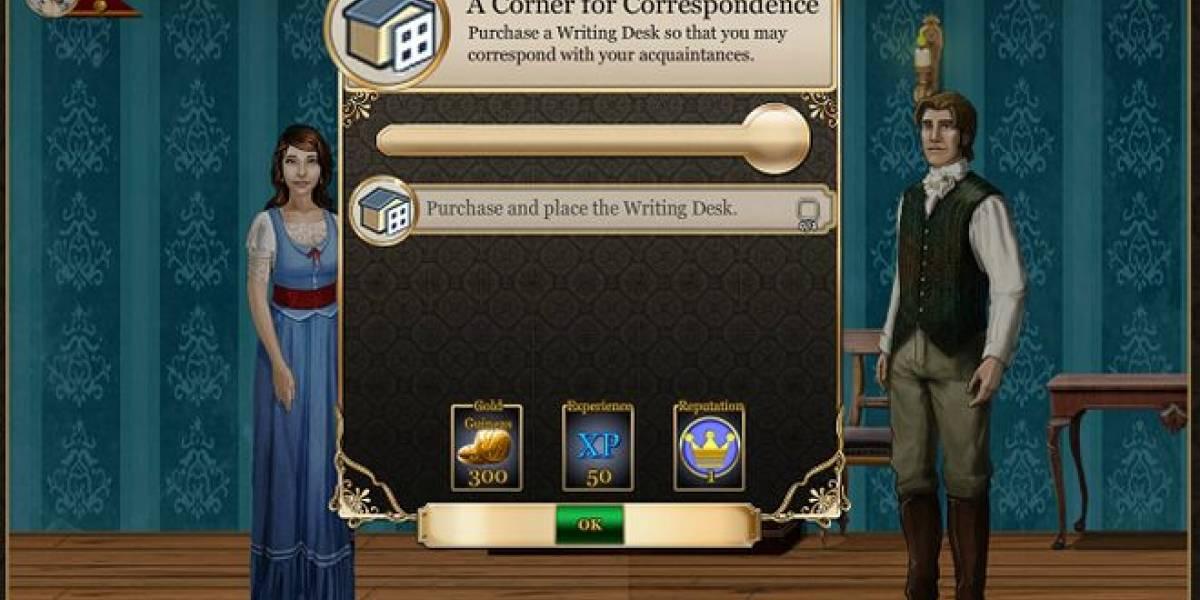 Jane Austen ya tiene su propio juego en Facebook