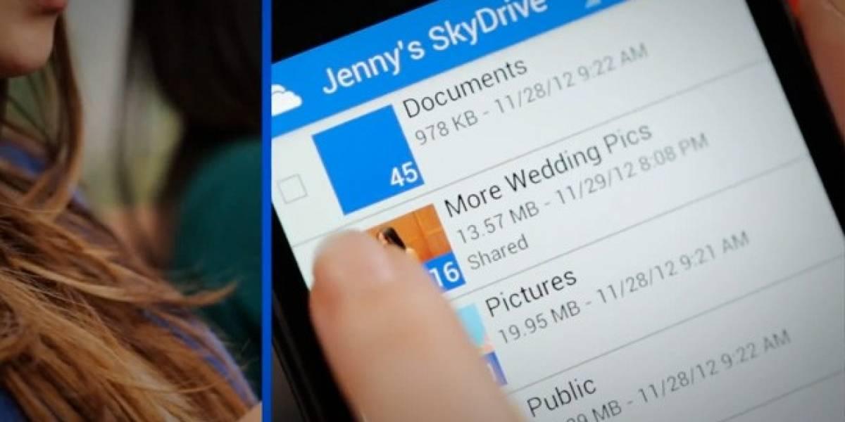 SkyDrive para Xbox 360: Ve lo que subes desde tu PC o teléfono en tu consola