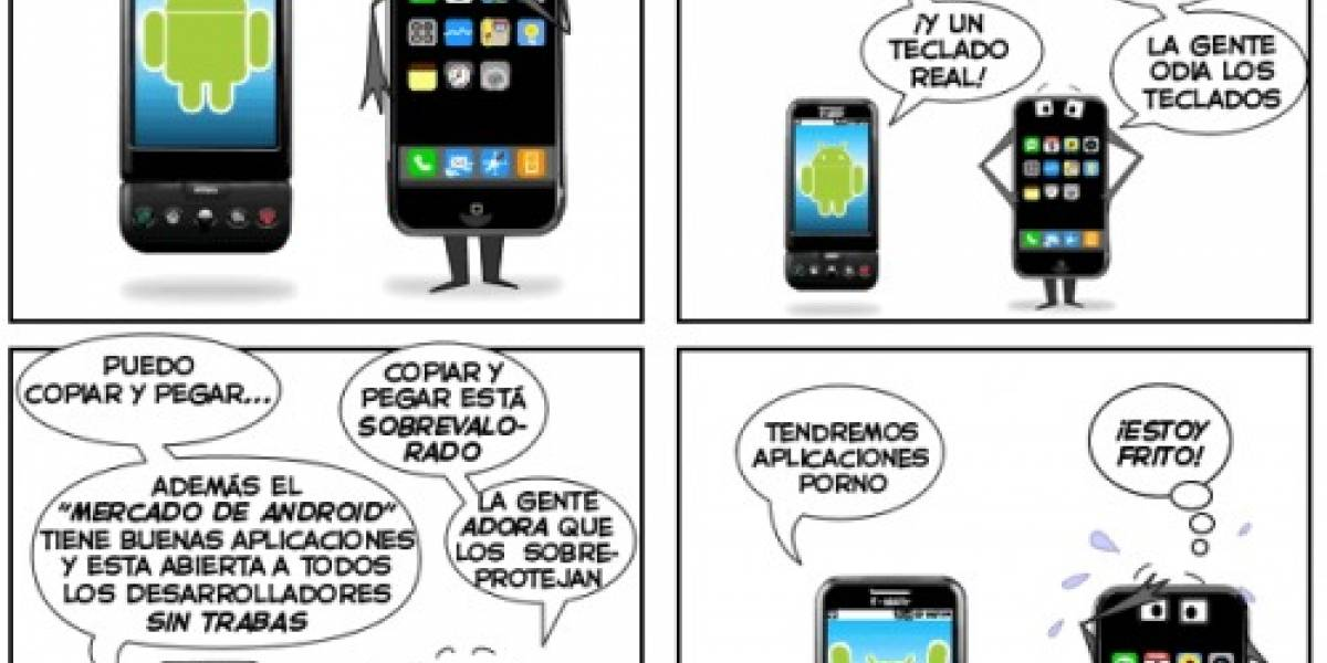 Android vs iPhone 3G