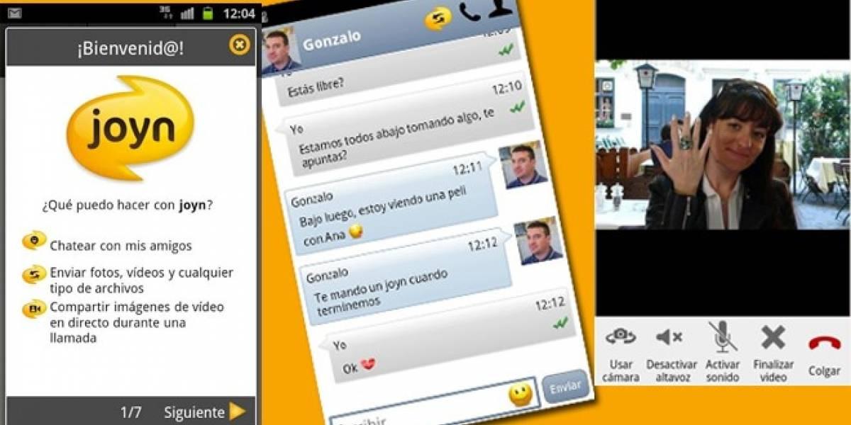 Movistar, Vodafone y Orange lanzan en España los primeros móviles con Joyn incorporado