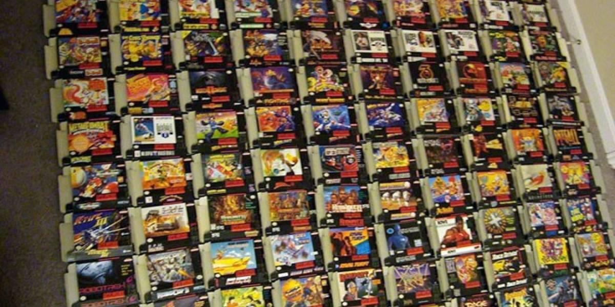 Llévate todos los juegos de Super Nintendo en esta subasta de eBay