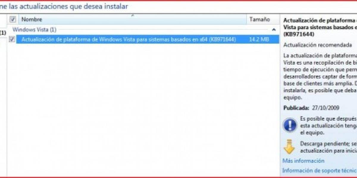Direct X 11 disponible para windows Vista