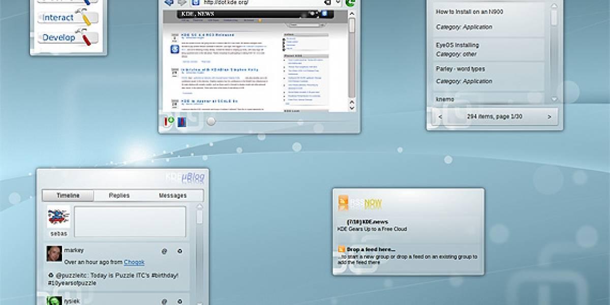 KDE SC 4.4.0 con nueva interfaz para netbooks, ventanas en pestañas y framework de autenticación