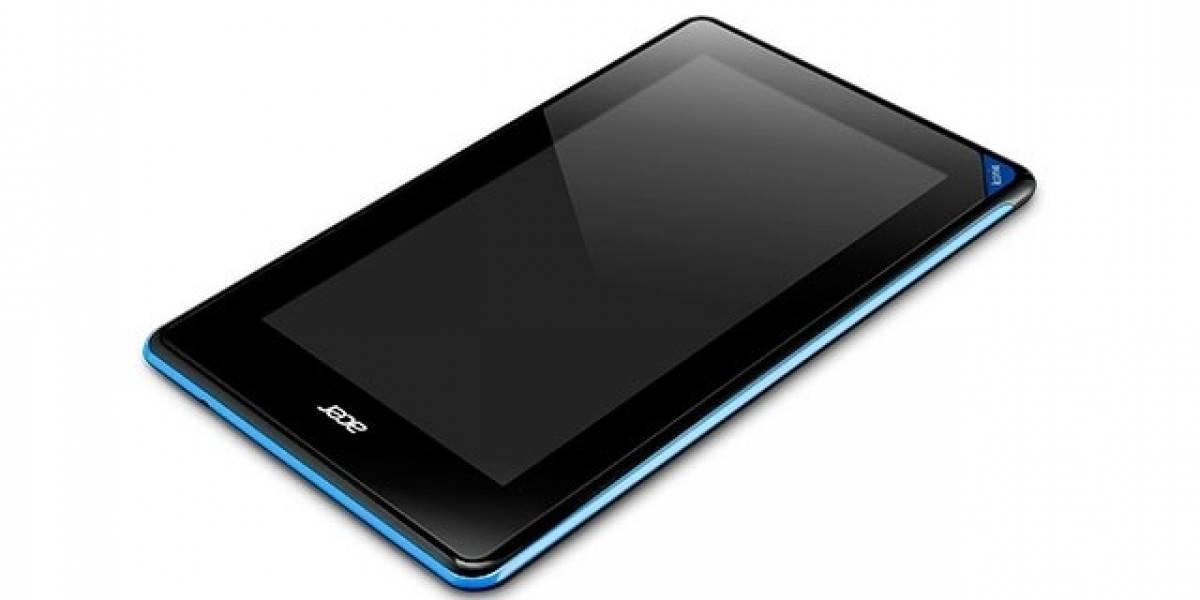 CES 2013: Acer presenta su nuevo tablet de 7 pulgadas, la Iconia B1