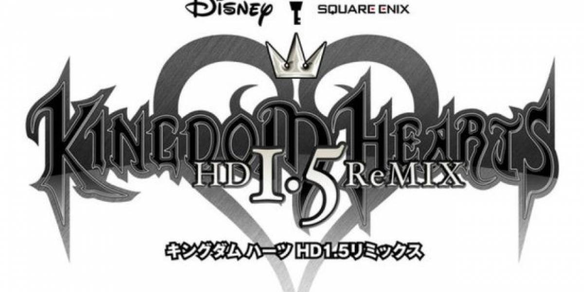 TGS 12: Kingdom Hearts regresa con compilado HD para PS3