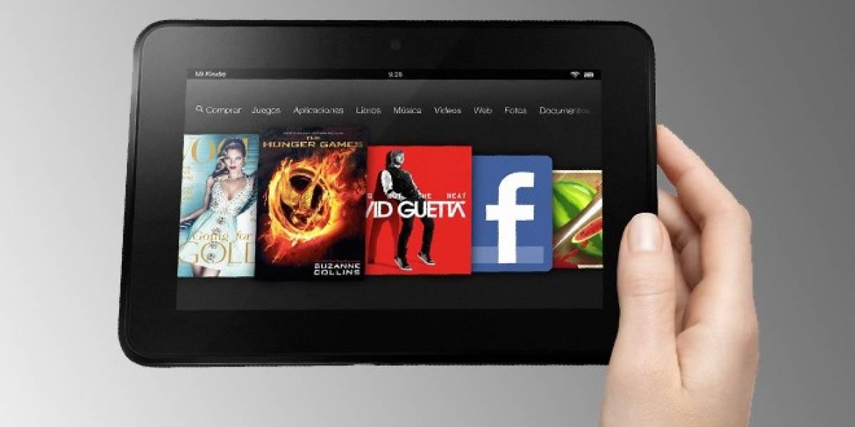 Filtradas las especificaciones técnicas de los nuevos Kindle Fire HD