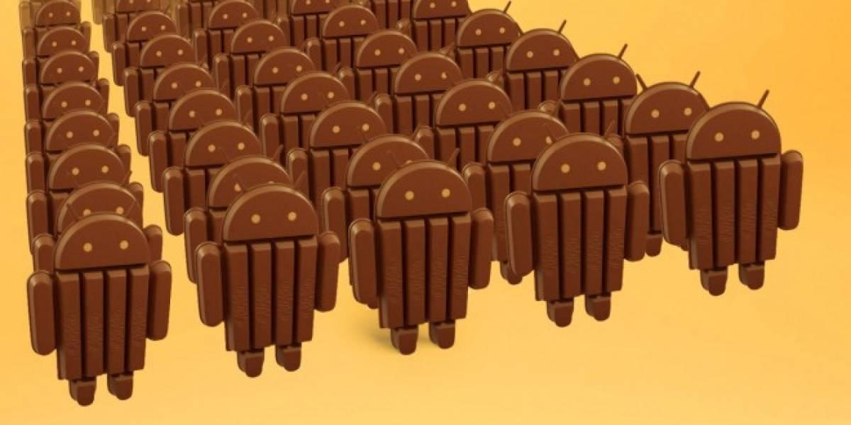 Android 4.4 KitKat cuenta con solo 1,1% de presencia en equipos tras su primer mes