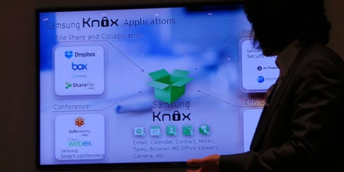 MWC13: Samsung presenta Knox, su software para separar lo profesional y lo personal en el móvil