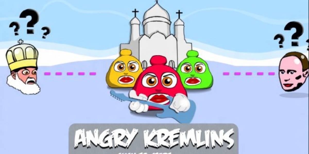 Crean juego de Pussy Riot inspirado en Angry Birds