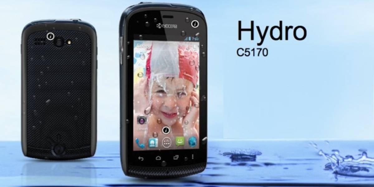 Kyocera Hydro, el Android resistente al agua