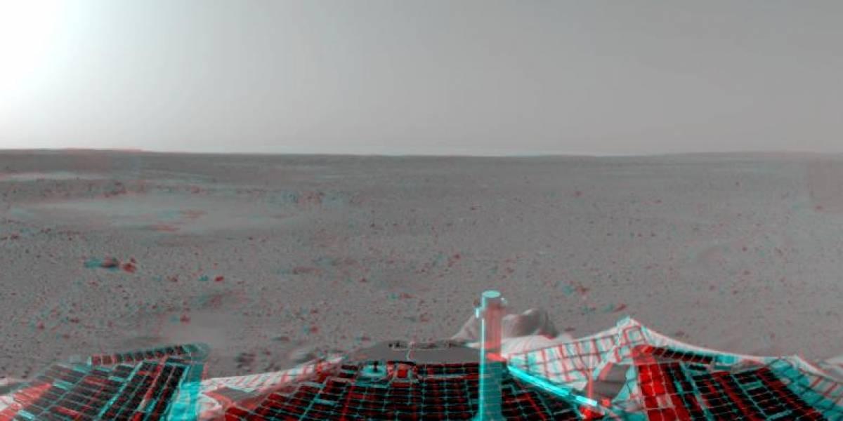 El rover Spirit cumple 6 años en Marte