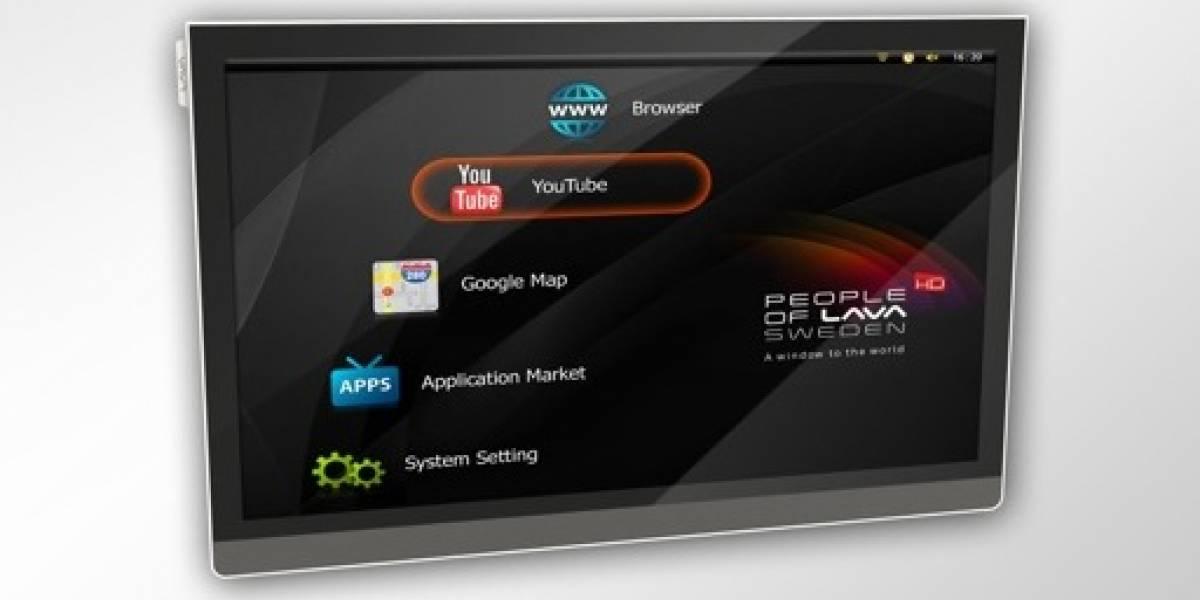 La primera TV que corre Android
