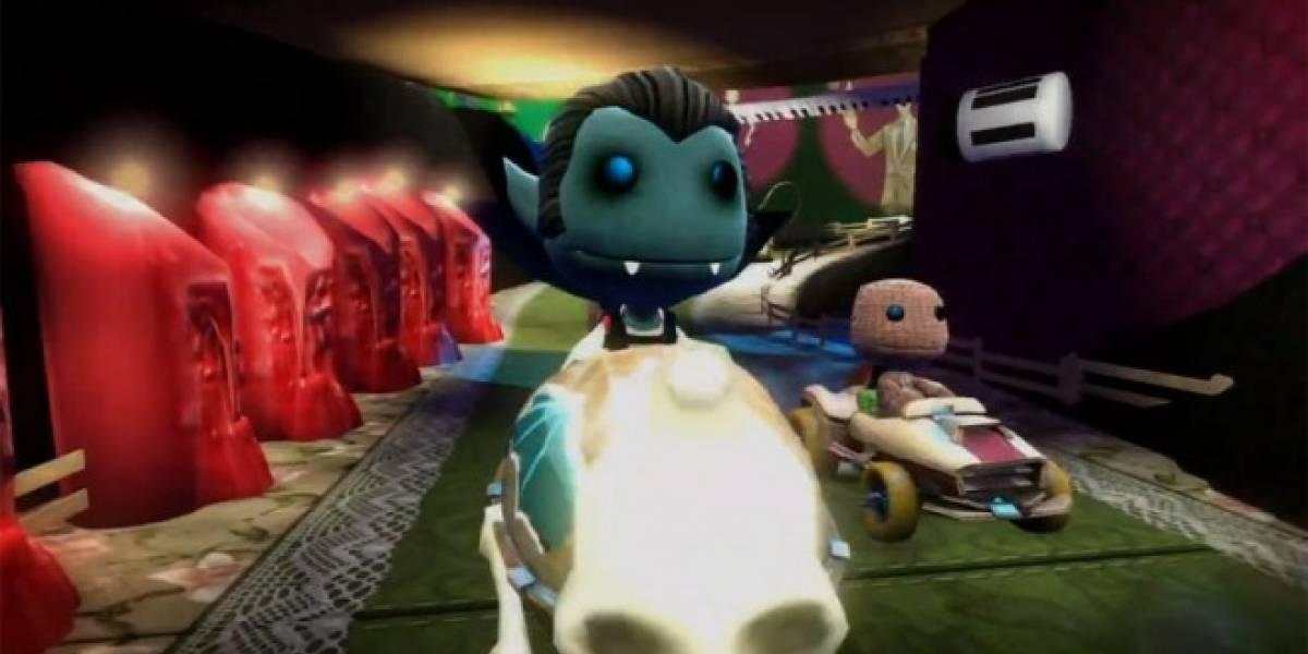 LittleBigPlanet Karting y Puppeteer reciben tráilers de Halloween