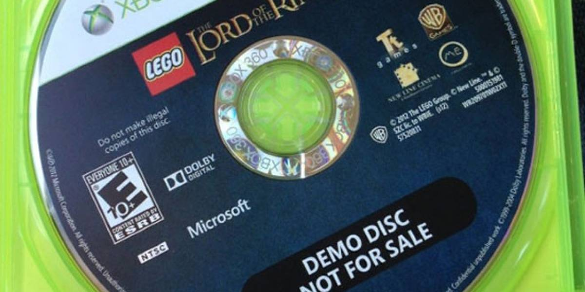 Otro FAIL, ahora es con las copias de Lego The Lord of the Rings