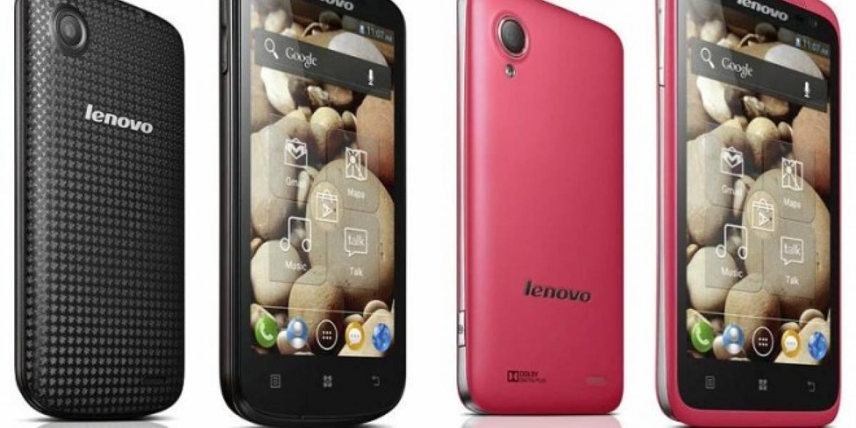 CES 2013: Lenovo complementa su oferta de smartphones con 5 nuevos equipos