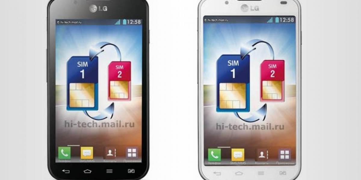LG prepara el Optimus L7 II Dual para su lanzamiento en la feria MWC 2013