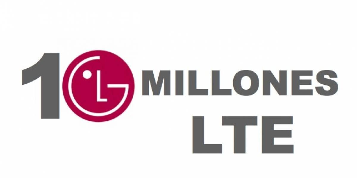 LG alcanza los 10 millones de ventas de smartphones con LTE