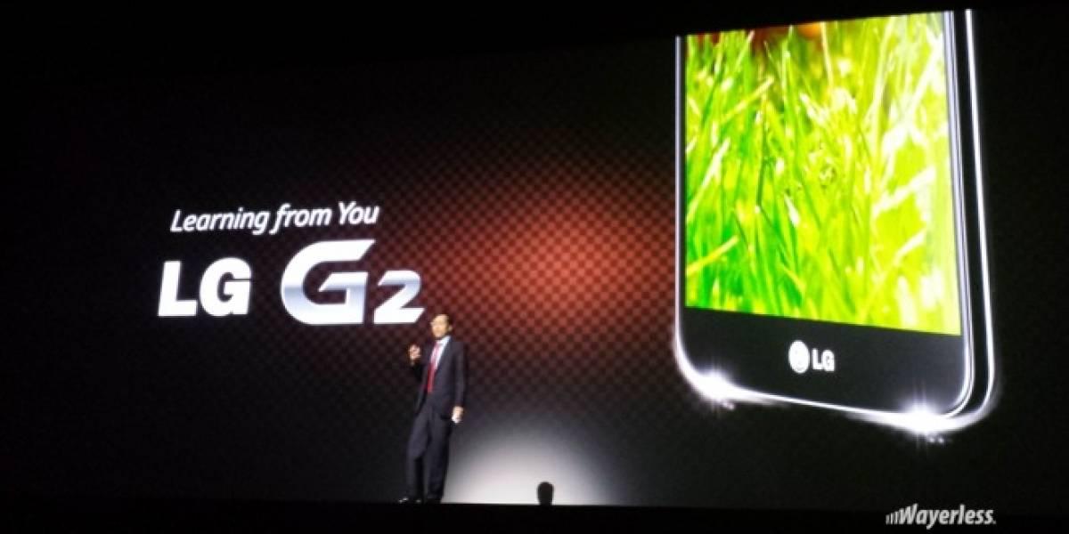 LG G2 versus Smartphones actuales