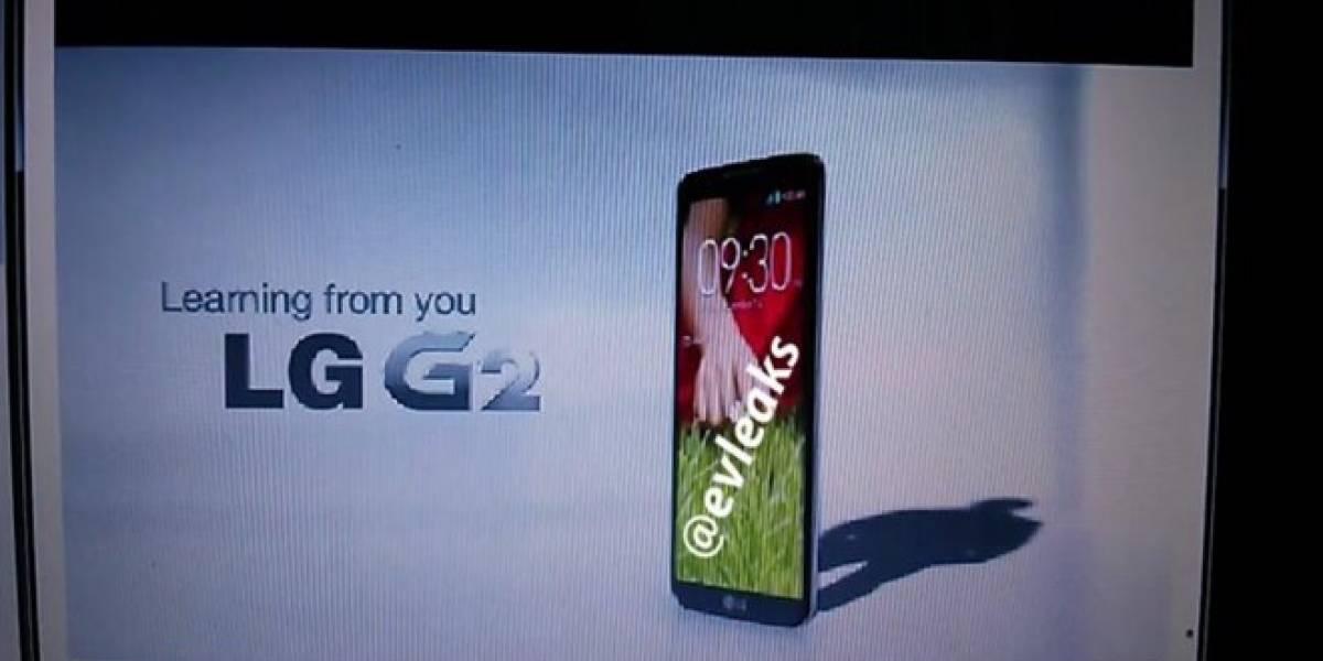 Se filtran imágenes del LG G2, el posible sucesor del Optimus G Pro