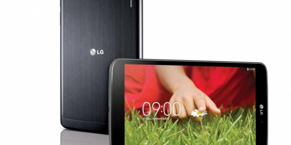 LG retorna al mercado de los tablets con el G Pad 8.3