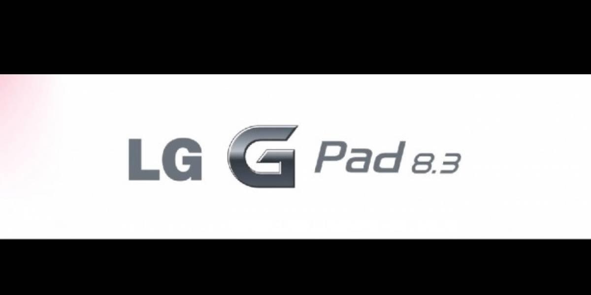 LG ya comienza a crear expectativa alrededor de su nuevo tablet