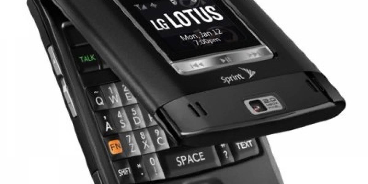 LG Lotus, una Almeja QWERTY