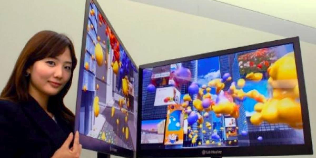 """LG muestra nuevo LCD de 42 pulgadas """"más delgado del mundo"""""""