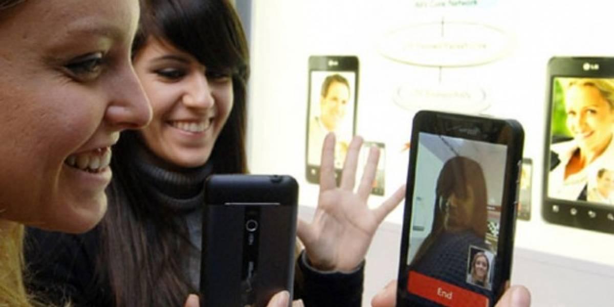 VoLTE (voz sobre LTE) mostrada en un LG Revolution