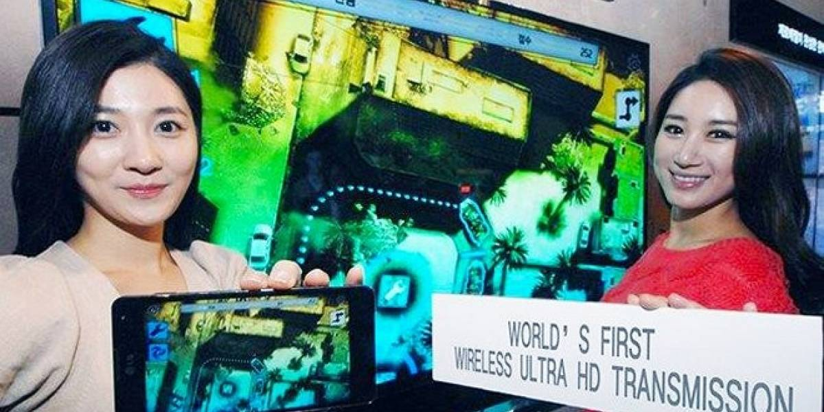 MWC13: Wireless Ultra HD Transmission, lo nuevo de LG para transmitir video en 4K