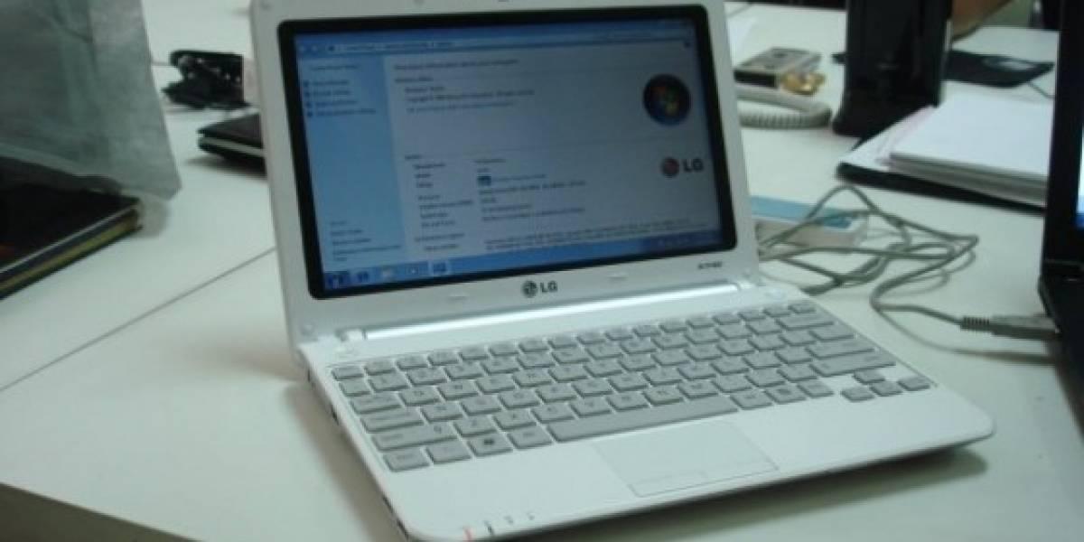 LG presenta el X140, un netbook con 3G