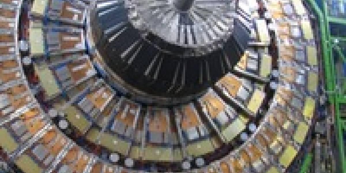 El LHC produce las primeras colisiones de protones