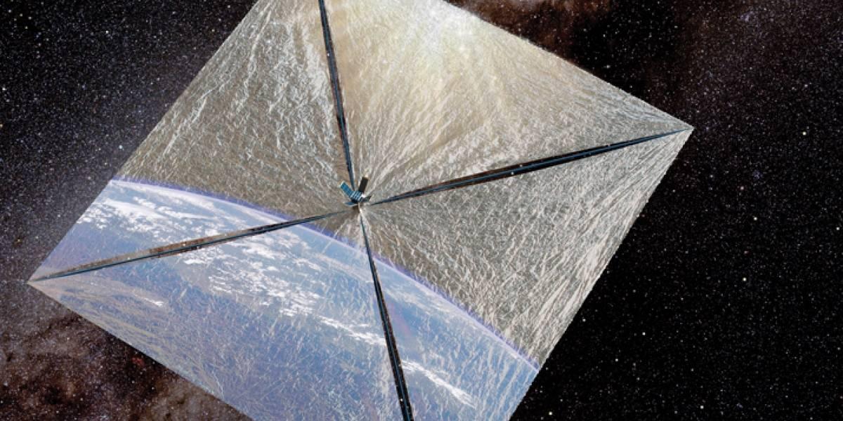 Nave espacial busca utilizar la energía del Sol para desplazarse
