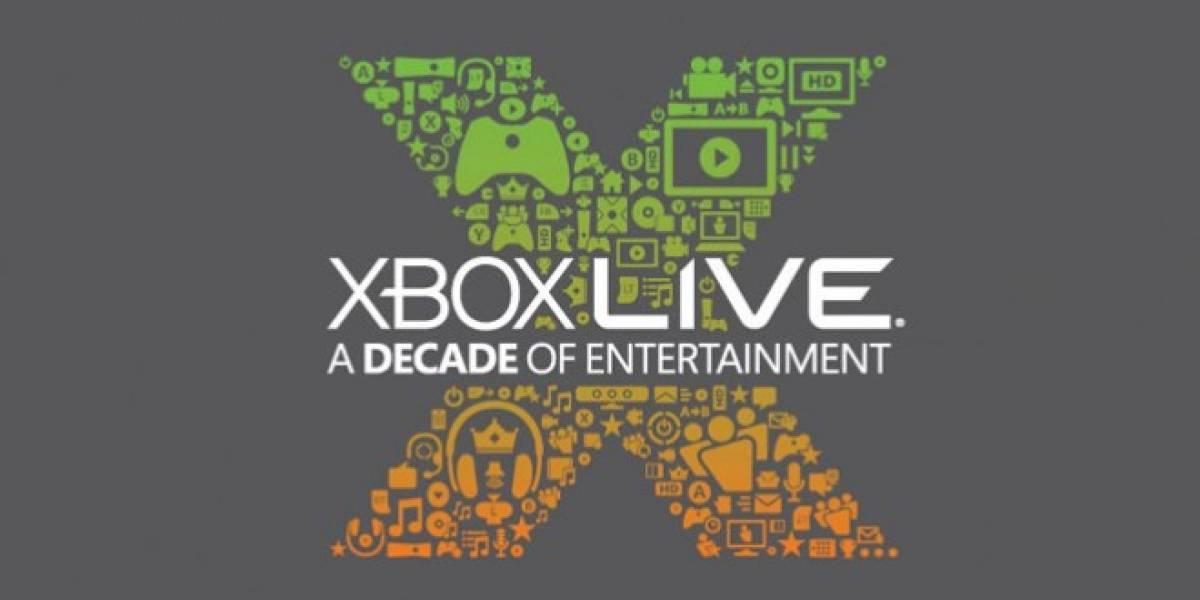 Xbox Live celebra sus 10 años de vida