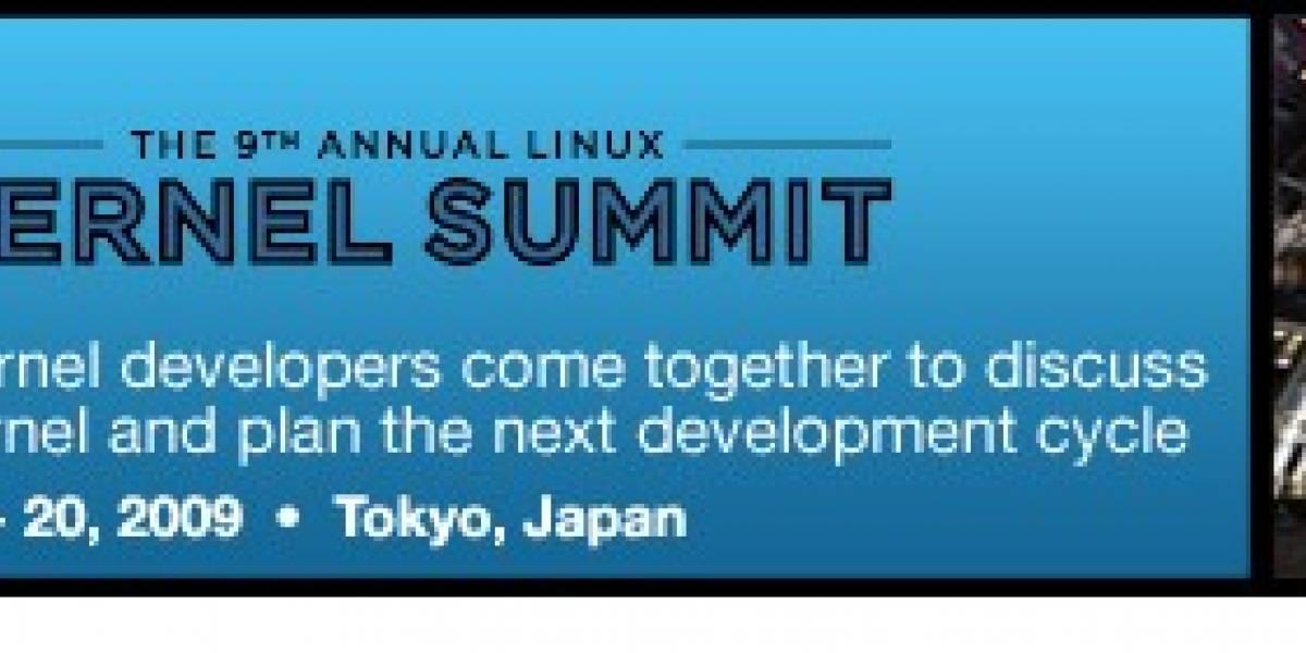 Se viene el Linux Kernel Summit 2009