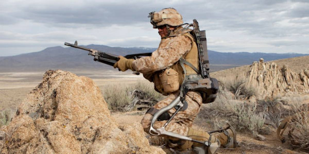 Exoesqueleto de Lockheed Martin usará celdas de energía en el campo de batalla
