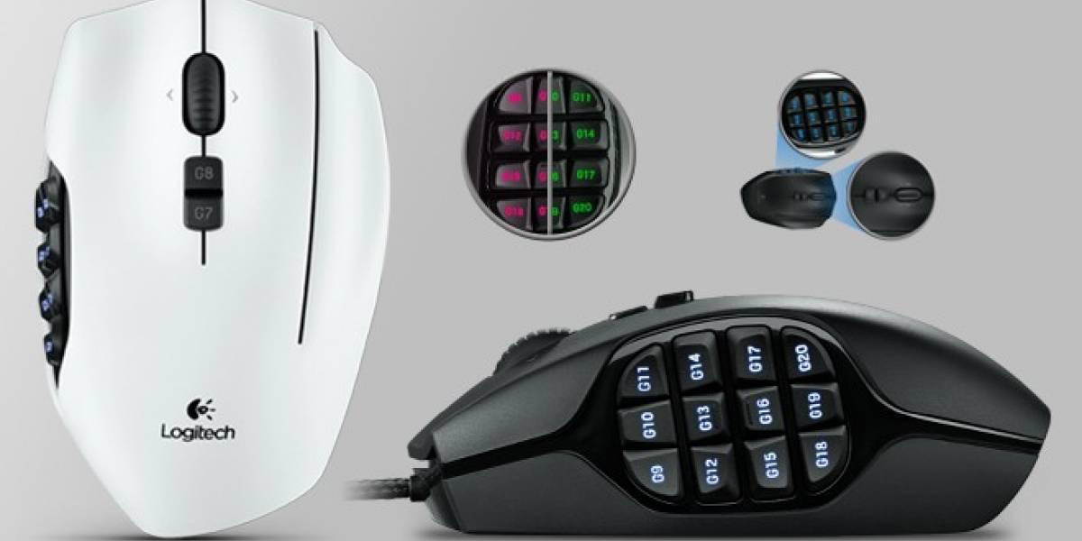 Europa: Logitech anuncia el G600 MMO, un ratón pensado para jugar