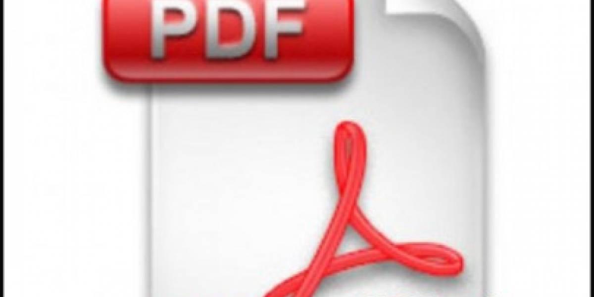 PDFs pueden ser peligro público