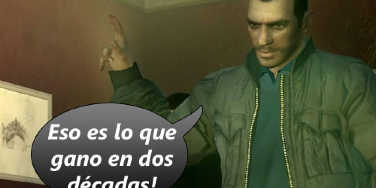 Grand Theft Auto IV va a vender US$400 MILLIONES!!!