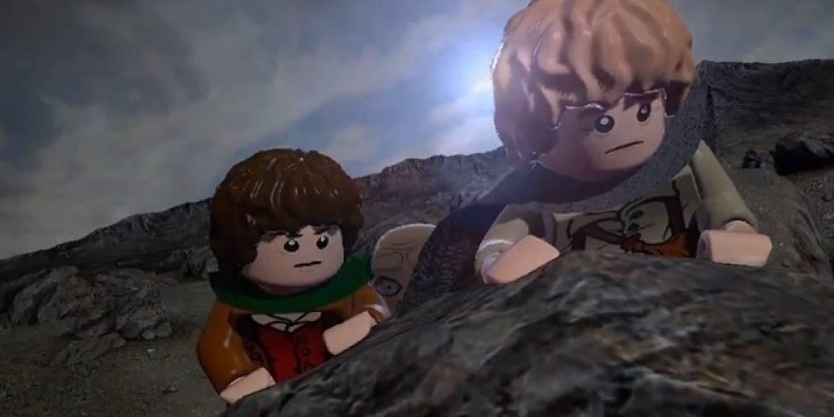 Así se recrea la Tierra Media en LEGO Lord of the Rings