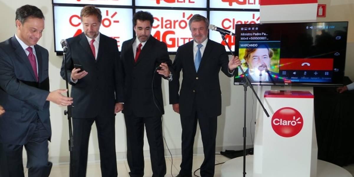 Chile: Claro inicia su marcha blanca de 4G LTE