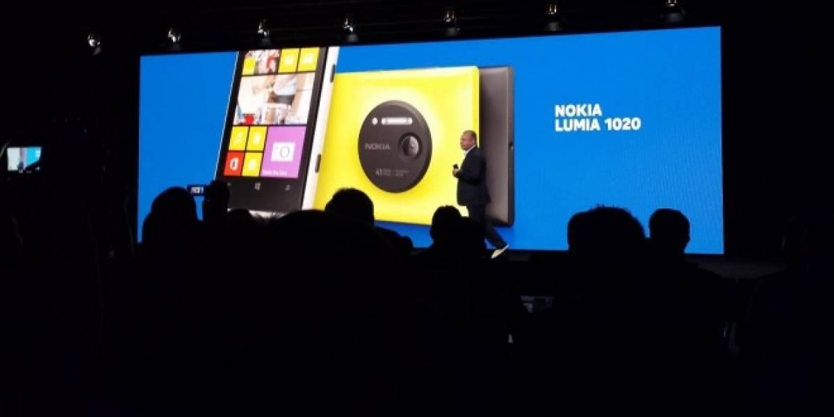 Nokia y Telefónica anuncian evento de presentación del Lumia 1020