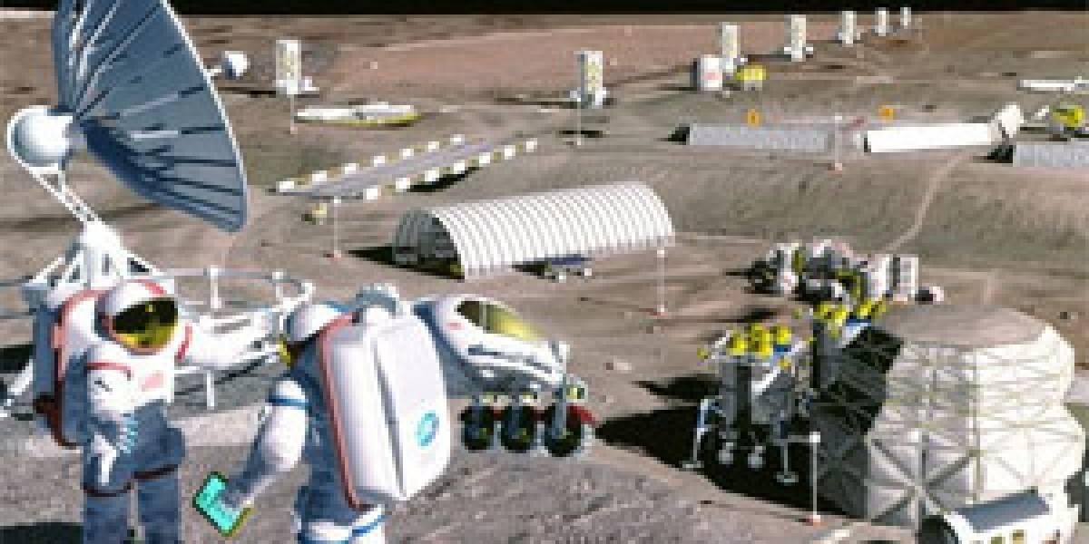 La NASA eligió el diseño de un argentino para hábitat lunar