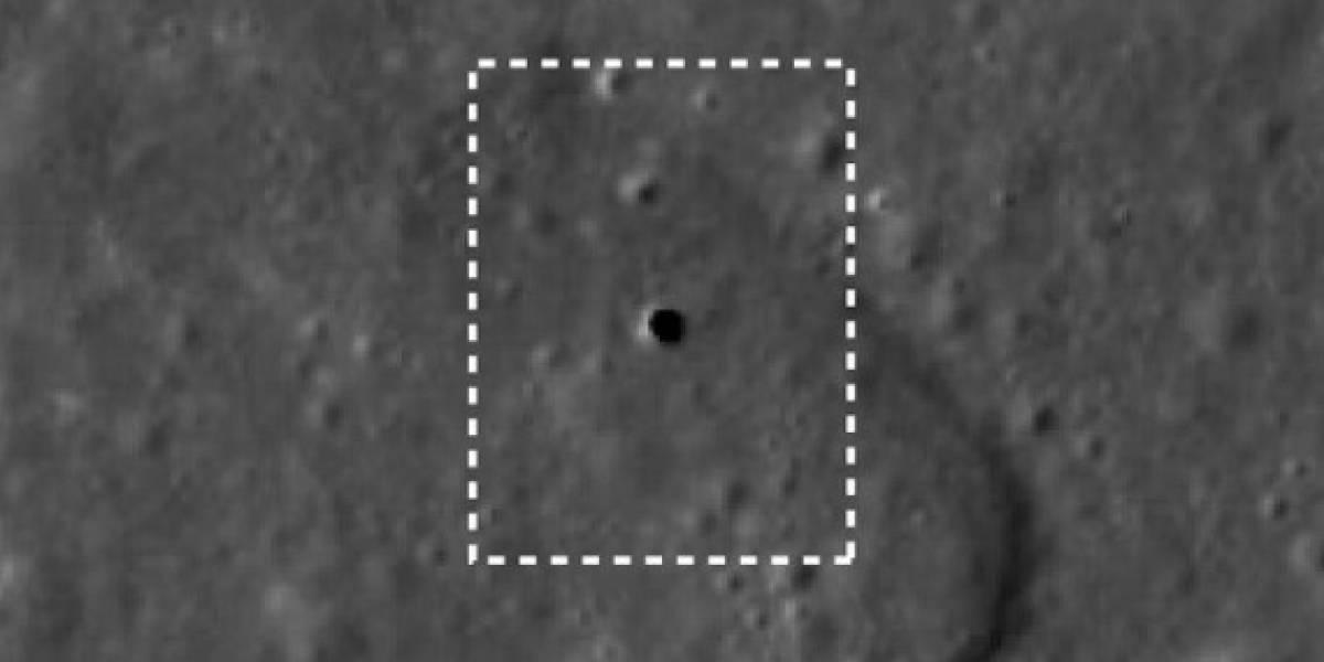 Fotografías lunares podrían indicar presencia de red de túneles interconectados