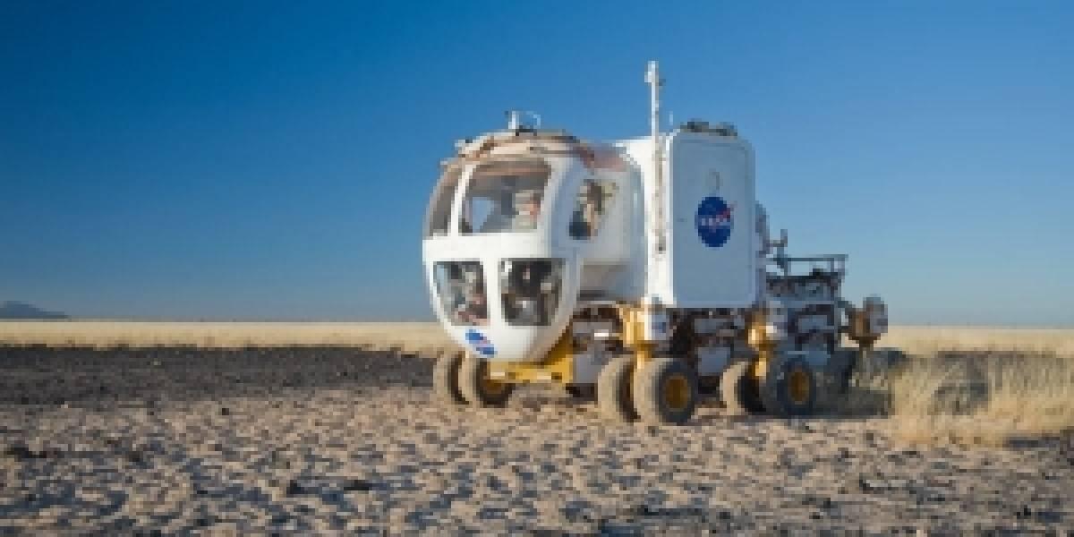 La NASA concluye pruebas de los prototipos de vehículos lunares