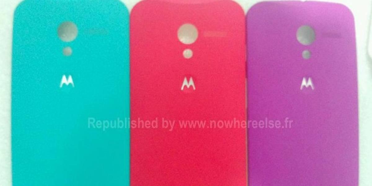 Se filtran los coloridos paneles traseros del Moto X