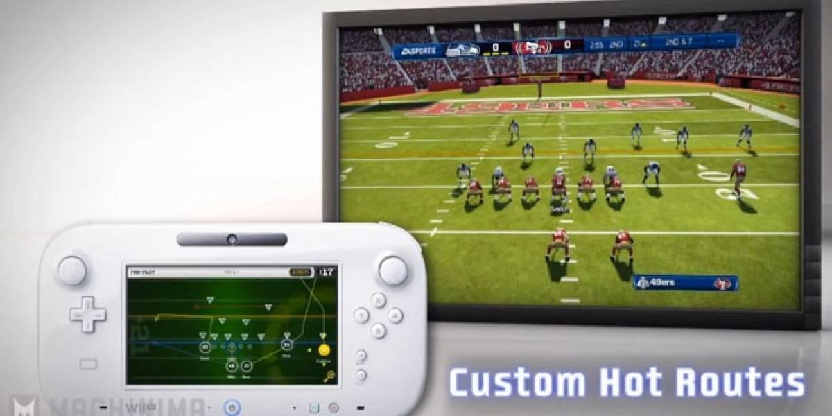Nuevo trailer muestra cómo se juega Madden NFL 13 en Wii U