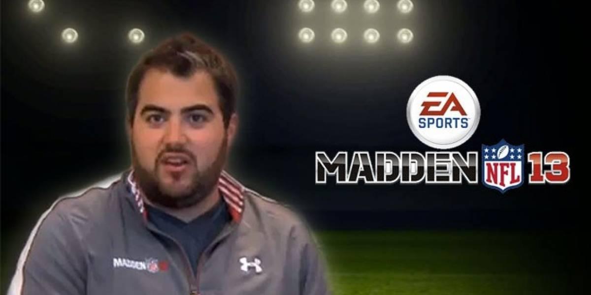 NB Entrevista: Ryan Ferwerda nos cuenta lo nuevo de Madden NFL 13