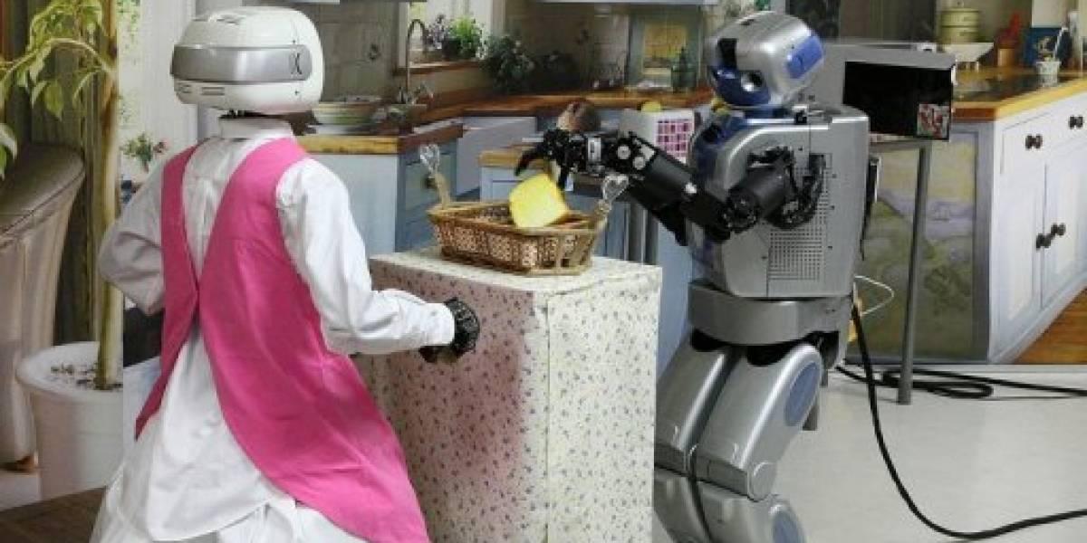 Mahru-Z: El robot doméstico de limpieza