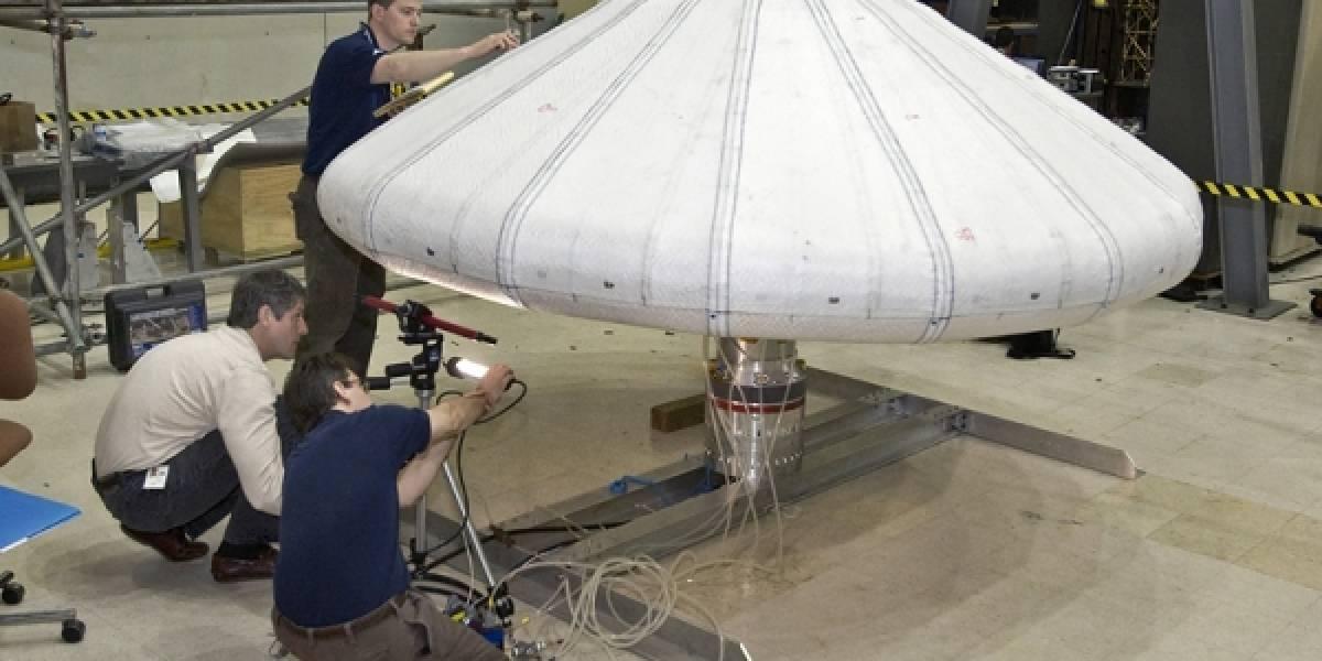 La NASA prueba con éxito un nuevo escudo protector inflable